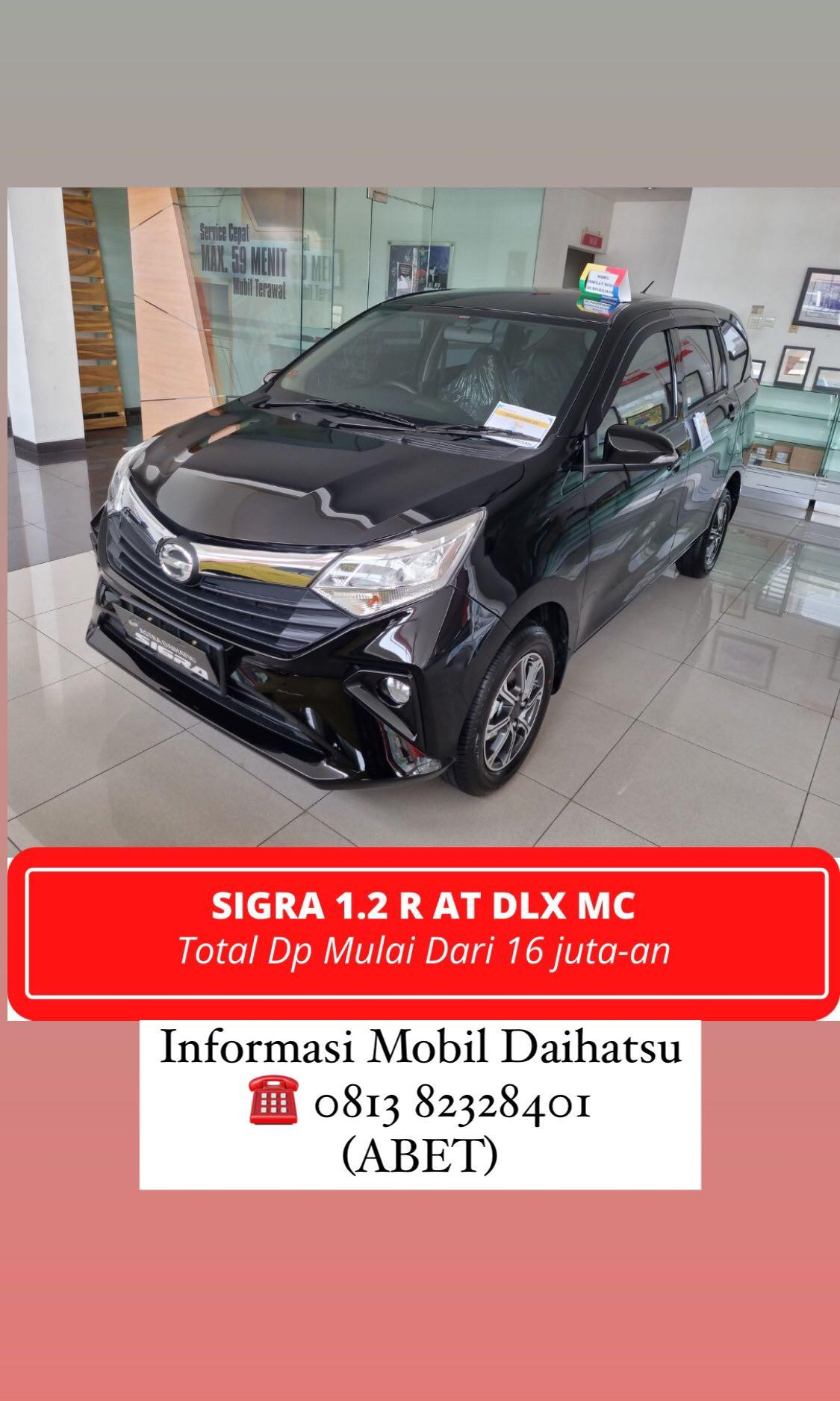 DP MURAH Daihatsu Sigra mulai 16 jutaan. Daihatsu Fatmawati