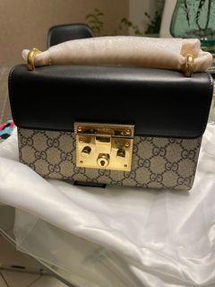 Gucci padlock bag