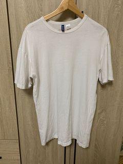 #排行榜  H&M 白色 短袖上衣 男