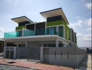 Limited 38x88 Freehold double storey Rebate 22% Nr Puchong Mall
