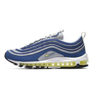 Nike AIR MAX 97 ATLANTICBLUE 雪碧藍銀色反光