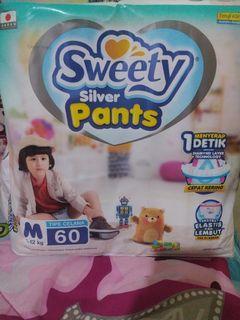 Pempers Sweety silver pants M