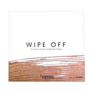 Rayou Wipe Off Reusable Makeup Removing Towl