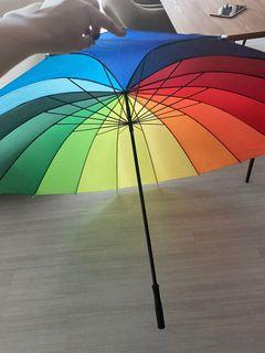Super Huge Rainbow Umbrella