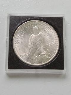 1922 US PEACE DOLLAR SILVER COIN 90% SILVER