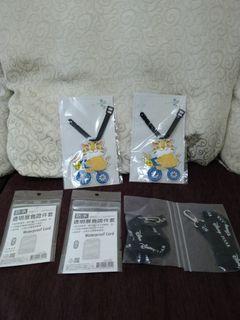 貓裏喵3D行李牌送防水透明展會證件套