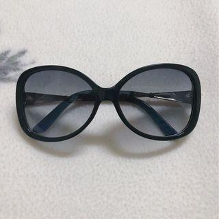 夏天 太陽眼鏡 時尚 側邊水鑽-黑
