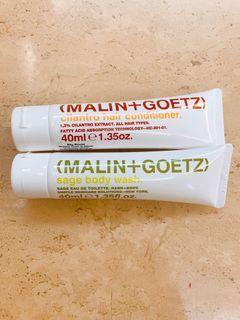 🌟 2折‼️ 美國品牌 Malin Goetz 鼠尾草潔膚沐浴露 sage body wash 40ml 旅行裝 sample
