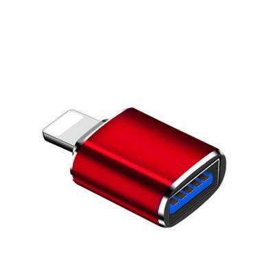 品名: 蘋果otg轉接頭lightning轉usb3.0轉換器iPad(顏色隨機) J-14690