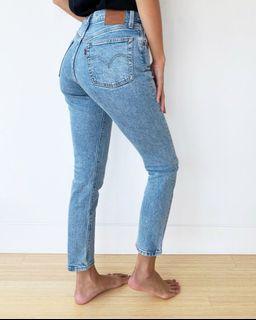 Aritzia 501 Levi skinny filiforme jeans