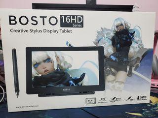 """Bosto Display Drawing Tablet 15.6"""" (16HD Series)"""