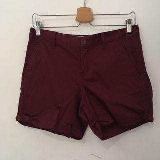 Giordano Red Shorts