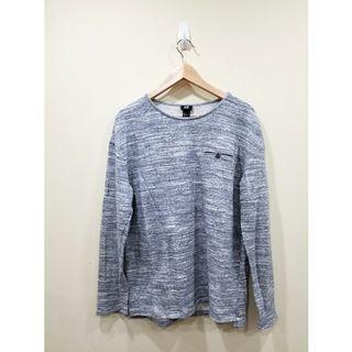 H&M | Grey-White Sweater | L