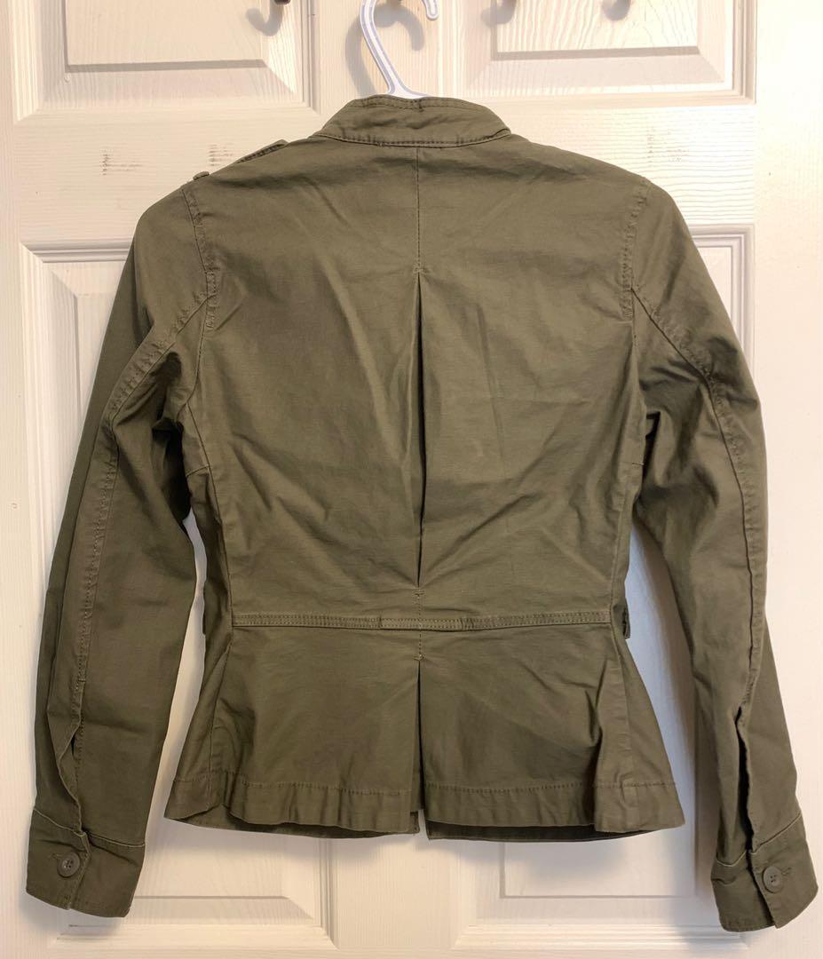 H&M Olive Green Coat