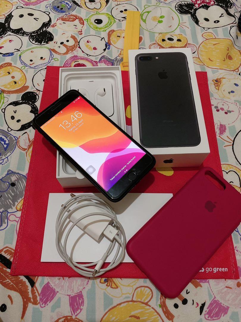 Iphone 7 plus 128gb blackmate