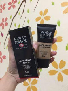Make Up For Ever Matte Velvet Foundie