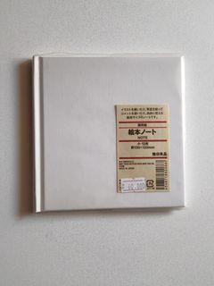 MUJI Hardcover notebook