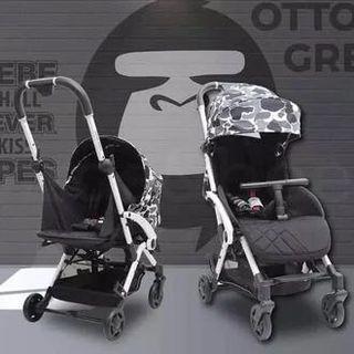 [PRELOVED] stroller cocolatte otto x ukuran cabin size reversible seat hadap ibu
