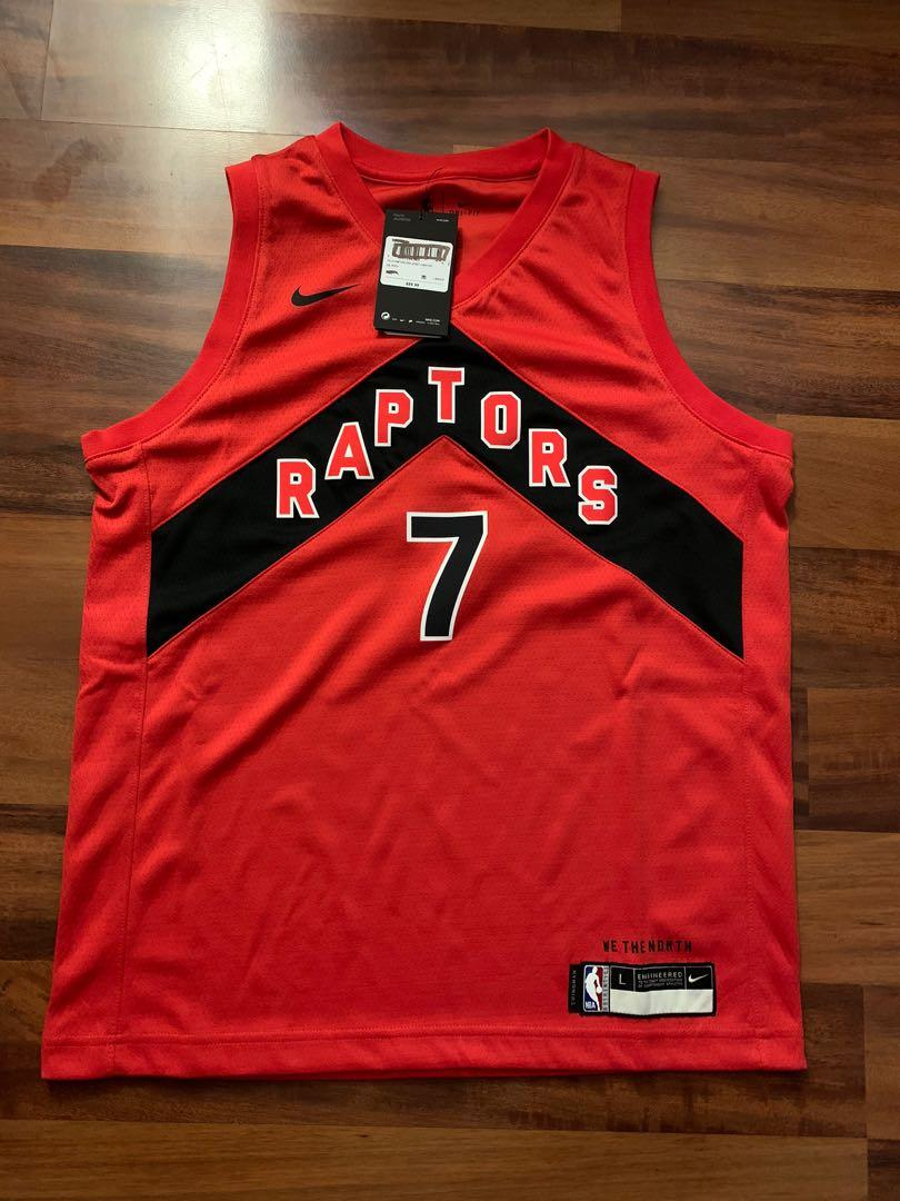 Raptors Lowry Jersey youth size - BNWT on discount