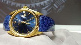 Rare Rolex Datejust 16018 Blue