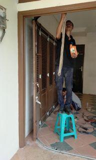 Spesialis perbaikan pintu garasi 081314749953 panggilan murah
