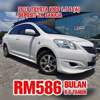 2010 Toyota Vios 1.5 E (Auto)