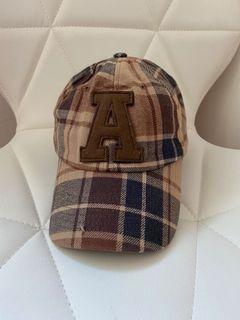 格紋棒球帽