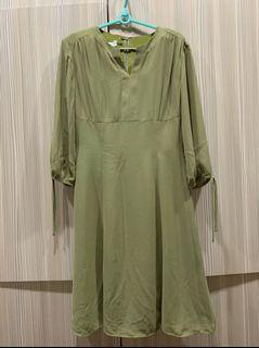 日系青蘋果綠洋裝🍏