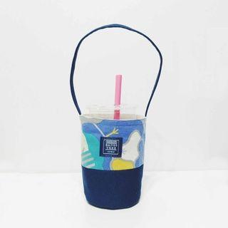 全新 瀏海樹 環保飲料提袋 紫色調色盤(絕版)