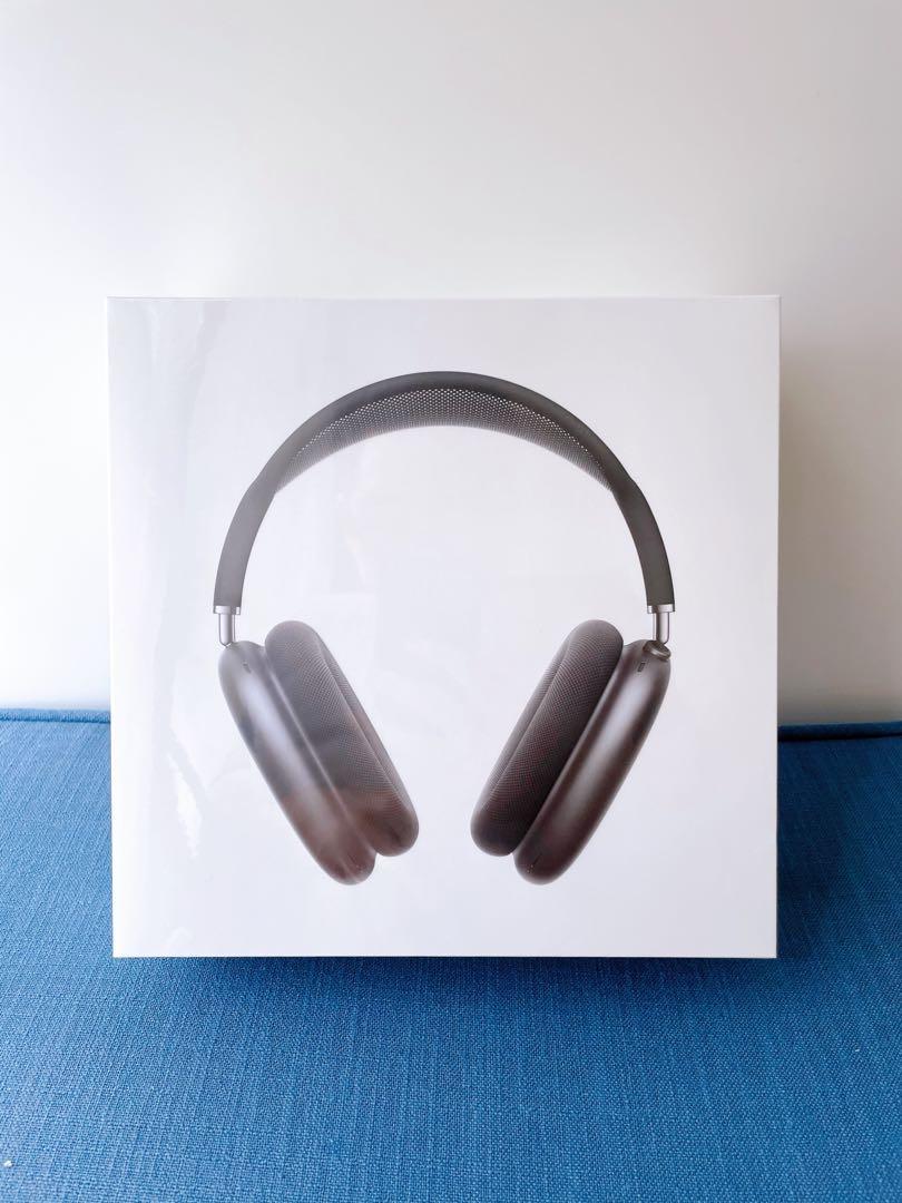 [全新未拆] AirPods Max 太空灰 Space Gray 含耳機套 with Black Headband