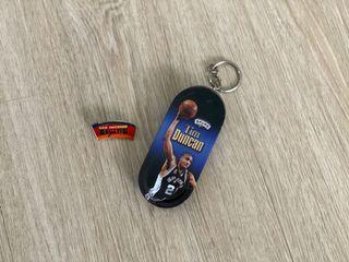 #免費送 NBA 馬刺 鄧肯 Tim Duncan 叮噹肯 週邊