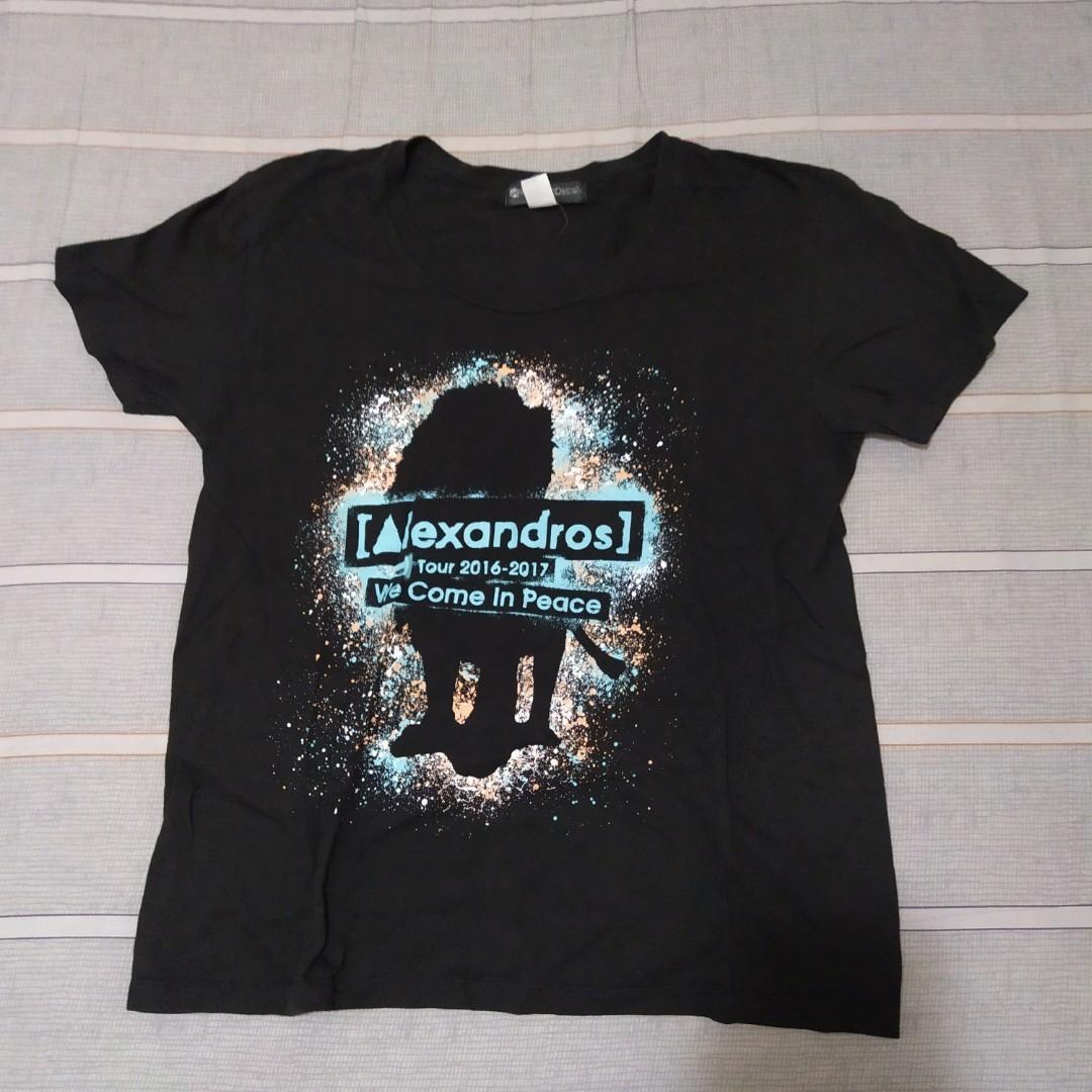 [Alexandros] 周邊 演唱會紀念T恤 應援T