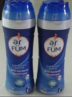 ar FUM Antibacterial Fragrance Beads In-Wash Scent Booster 250g