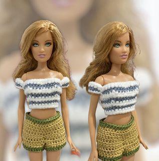 Baju Atasan Barbie Rajut (Bukan Preloved)