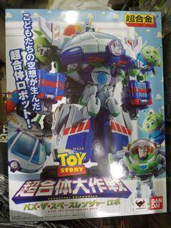 全新原裝日版bandai 反斗奇兵toy story 超合體大作戰 巴斯光年三眼仔 超合金