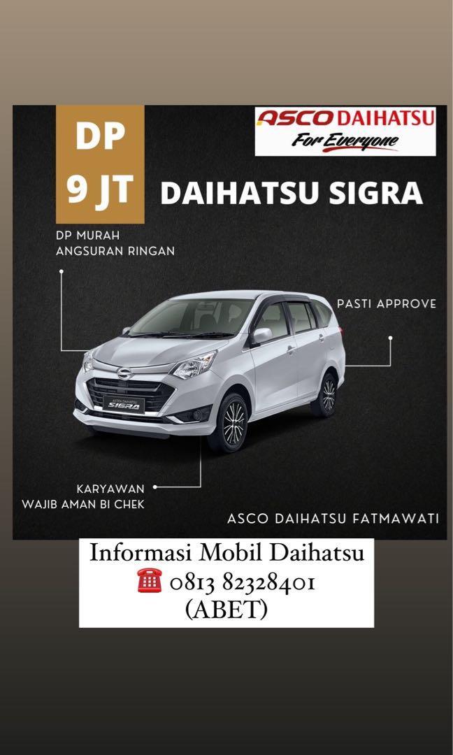 DP MURAH Daihatsu Sigra mulai 9 jutaan. Daihatsu Fatmawati