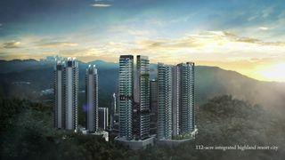 Genting Highland New Freehold Project🌟passive income RM2000