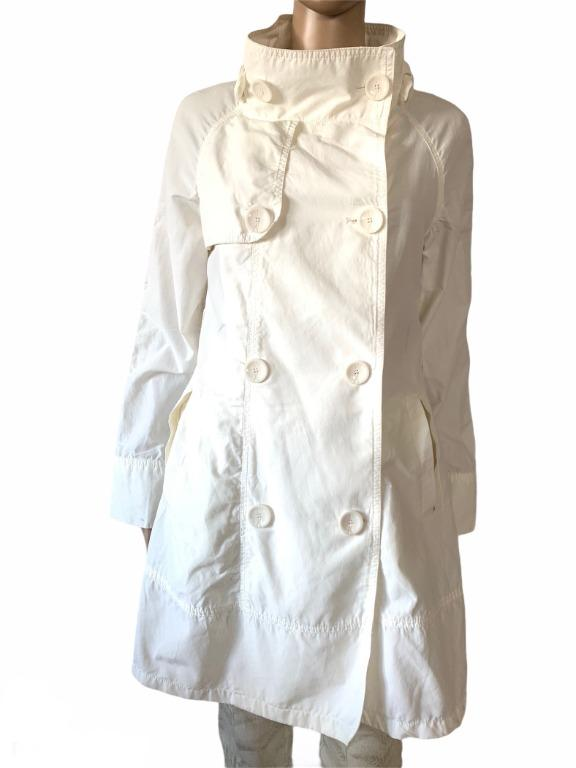 Guess by Marciano white rain coat