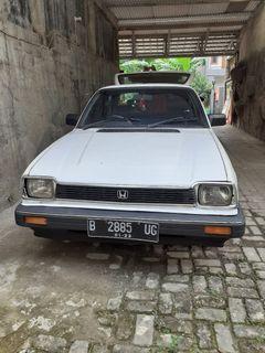 Honda civic 1300 hatchback 1982 putih lengkap