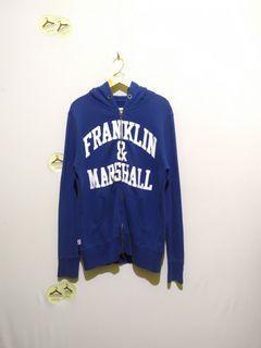 hoodie zip franklin & marshall