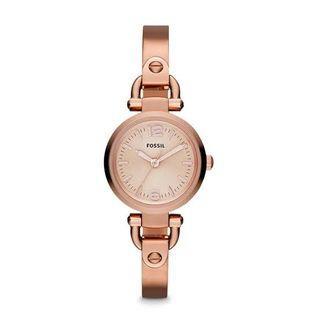 Jam tangan Fossil ES3268 RoseGold Georgia