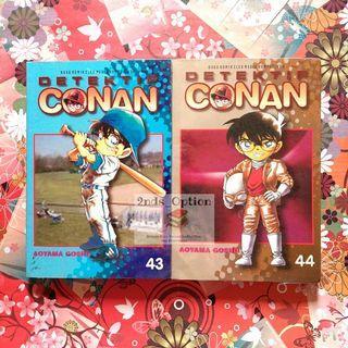 Komik Detektif Conan Vol.43 dan 44 by Aoyama Gosho
