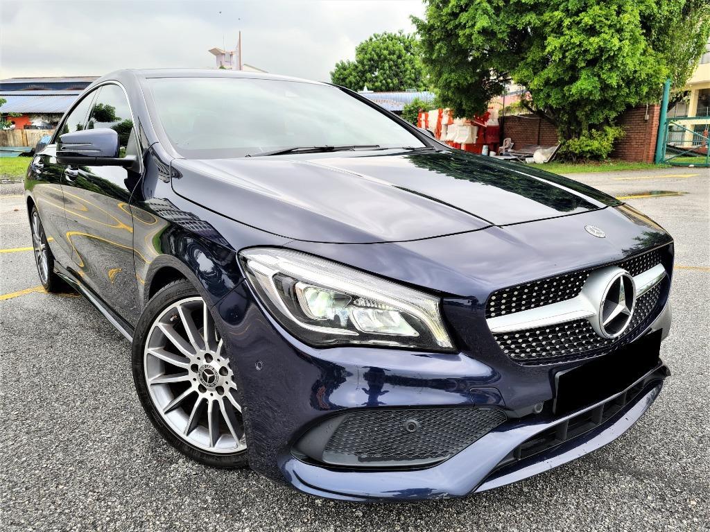 Mercedes-Benz CLA200 1.6 AMG [WARRANTY 2022][3X SERVICE VOUCHER FREE][LOW MILEAGE][CAR KING]