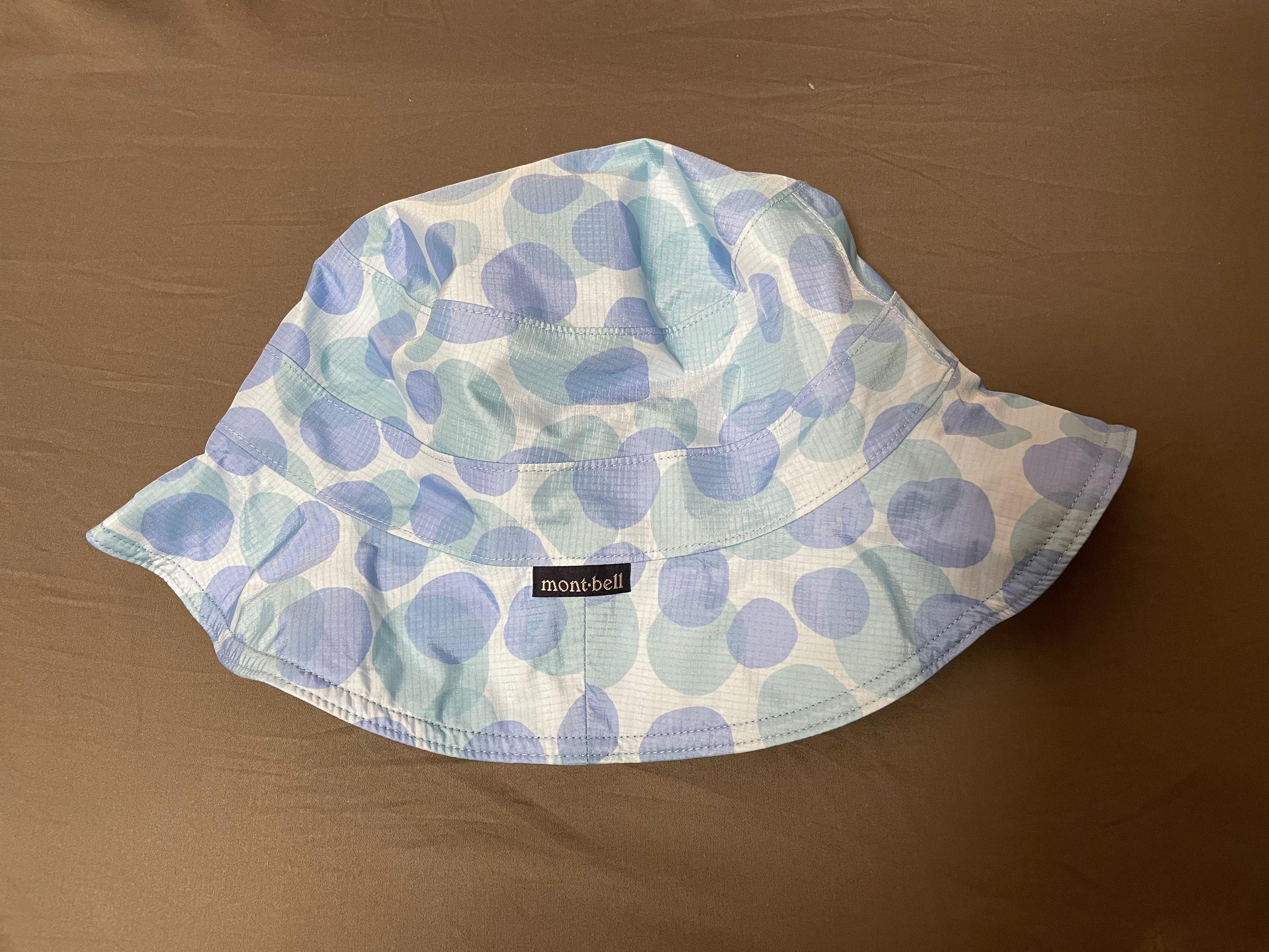 [日本mont-bell ]GORE-TEX Print Hat 防水圓盤帽(不含繩帶)