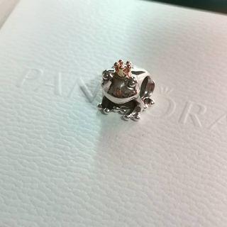 Pandora two tone frog prince charm