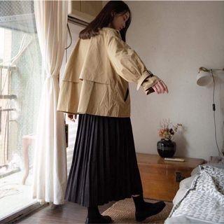Per. 正韓🇰🇷百褶針織長裙-黑色 perdot 韓國連線