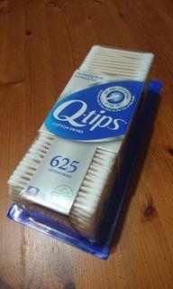 兩盒Q-tips100%純棉紙軸棉花棒/625支*2盒
