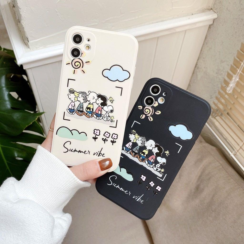 Soft Case motif Snoopy All iPhone Series