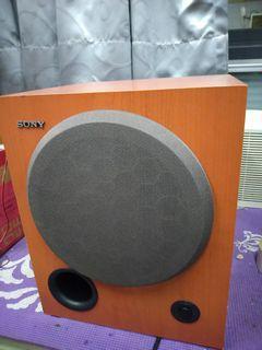 Sony主動式重低音喇叭