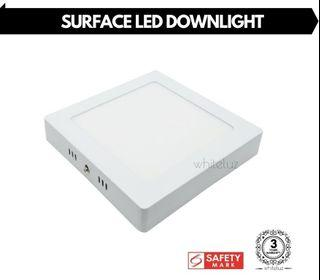 Surface LED Downlight Square